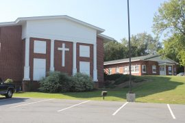 Exterior Facelift to the Columbus Baptist Association